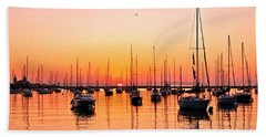 Chicago Sunrise Bath Towel