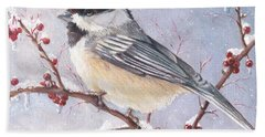 Chickadee Dee Dee Bath Towel