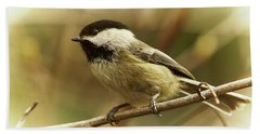 Chickadee Hand Towel