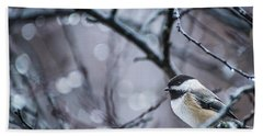 Chickadee Rain Bath Towel