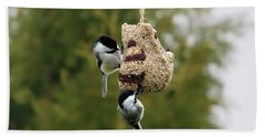 Chickadees Bath Towel