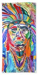 Chief Joseph Of The Nez Perce Hand Towel