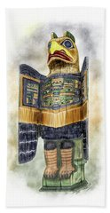 Chilkat Eagle Hand Towel