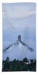 Chimney Rock Rising Hand Towel by Jason Coward