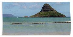 Chinamans Hat Oahu Bath Towel