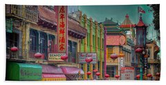 Chinatown Bath Towel