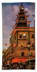 Chinatown San Francisco Hand Towel
