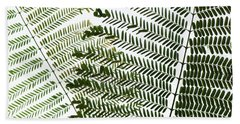Chinese Albizia Leaves Hand Towel