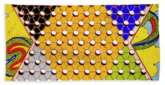 Chinese Checkers Bath Towel by Paul W Faust - Impressions of Light