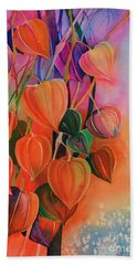Chinese Lanterns Hand Towel