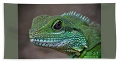 Chinese Water Dragon Bath Towel