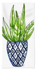 Chinoiserie Cactus No2 Hand Towel
