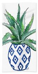 Chinoiserie Cactus Hand Towel