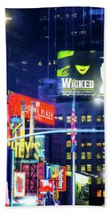 Chocolate Covered Broadway Hand Towel