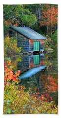 Chocorua Boathouse Bath Towel