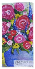 Choice Bouquet Hand Towel
