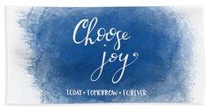Choose Joy Hand Towel