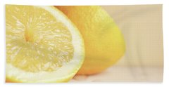Chopped Lemon Bath Towel