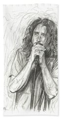 Chris Cornell Bath Towel