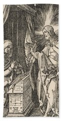 Christ Appearing To His Mother, From The Small Passion Hand Towel