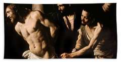 Christ At The Column Bath Towel