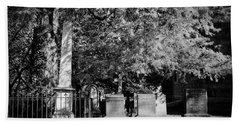 Christ Church Graveyard Bath Towel
