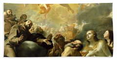 Christ In Glory With The Saints Hand Towel