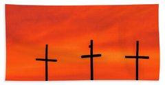 Christ Pilot Me Hill -02 Hand Towel