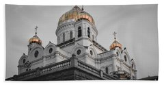 Christ The Savior Cathedral Bath Towel