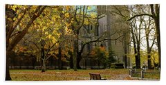 Christchurch Cathedral Hand Towel by Keith Boone