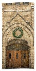 Christmas At Stone Chapel Bath Towel