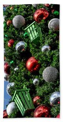 Christmas Balls Bath Towel