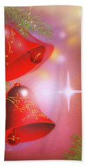 Christmas Bells Bath Towel