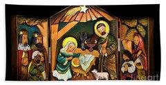 Christmas Card 2016 - 8 Bath Towel by Al Bourassa