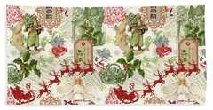 Christmas Folklore-d Hand Towel