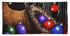 Christmas Colors Hand Towel
