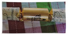 Hand Towel featuring the photograph Christmas Cracker by Cassandra Buckley