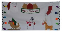Christmas Dreams Hand Towel