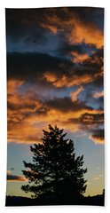 Christmas Eve Sunrise 2016 Hand Towel
