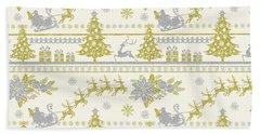 Christmas Glitter-a Hand Towel