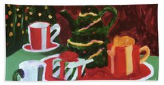 Christmas Holiday Hand Towel