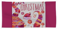 Hand Towel featuring the photograph Christmas by Jeff Burgess