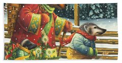 Christmas Journey Bath Towel