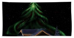 Christmas Lights Hand Towel