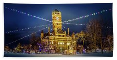 Christmas On The Square 2 Hand Towel