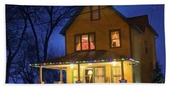 Christmas Story House Hand Towel