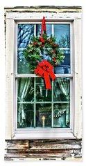 Christmas Window Hand Towel