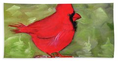 Christopher Cardinal Hand Towel