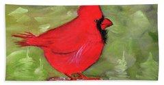 Christopher Cardinal Bath Towel