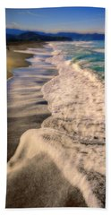 Chromatic Aberration At The Beach Bath Towel